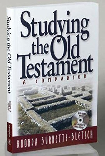 Studying The Old Testament W/Cd