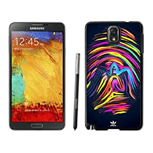 Lovely And Unique Designed Cover Case For Samsung Galaxy Note 3 N900A N900V N900P N900T With Adidas 9 Black Phone Case