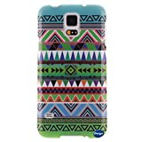 S5 Case,Galaxy S5 Case,Nancy's Shop **New** Fashion Pattern Design [Ultra Slim] [Perfect Fit] [Scratch Resistant] Premium TPU Gel Rubber Soft Skin Silicone Protective Cover Samsung Galaxy S5/Galaxy SV/Galaxy S V/ i9600(NOT Galaxy S5 Active) (Tribe pattern)