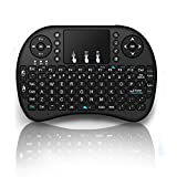 Globmall Wireless Airemouse Keyboard with Touchpad for PC Laptop Raspberry PI Mac and Android TV Box