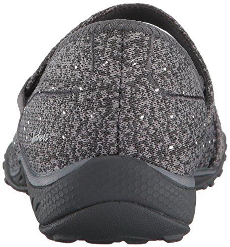 Skechers Vrouwen Ademen-easy Charmful Fashion Sneaker Houtskool