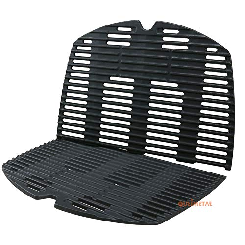 QuliMetal 7646 Cooking Grates for Weber Q300, Q3000 Series Gas Grill (Weber Q320 Grill)