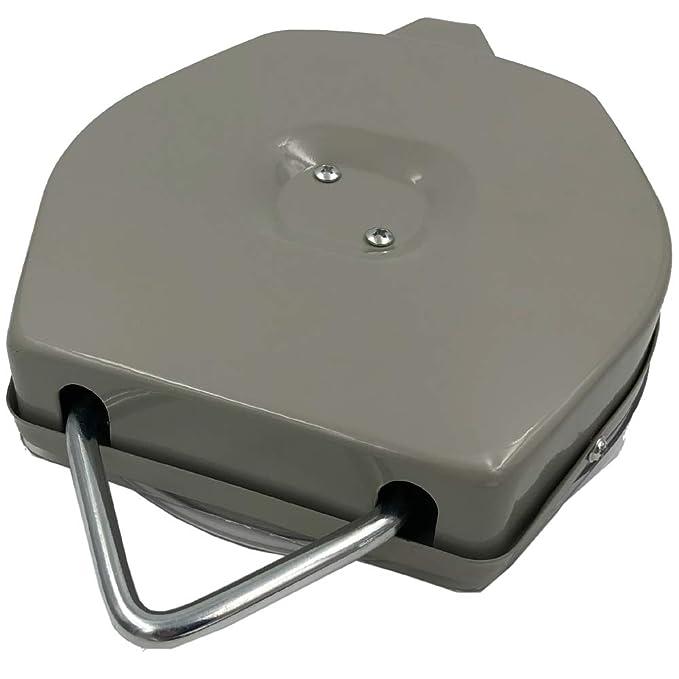 Balanza analógica PROFI 200g / 50kg máx. - Báscula para colgar con 2 ganchos en forma de S y con caja resistente de metal: Amazon.es: Hogar
