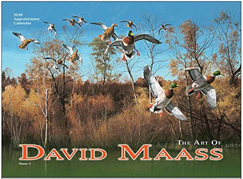 (David Maass Wildfowl Art 2019 Wall Calendar - 18