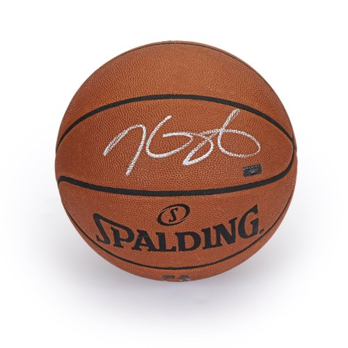 Kevin Durant Autographed in Silver Authentic Spalding Basketball ~Open Edition Item~ Panini Authentic