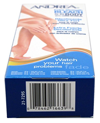 Andrea Creme Bleach X-Strength For Body (6 Pack) by Andrea (Image #1)