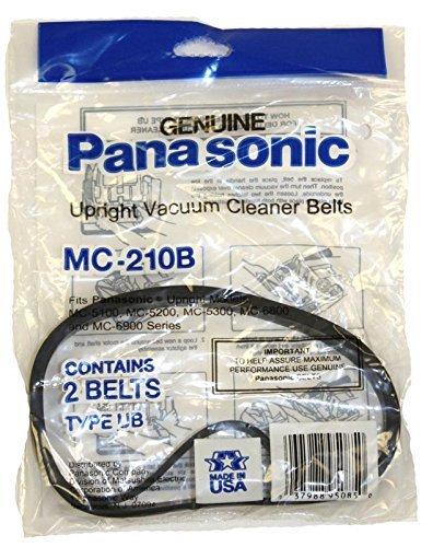 Panasonic MC-V270B Type UB-8 Replacement Upright Vacuum Cleaner Belt 2-Pack