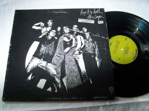ALICE COOPER LP, LOVE IT TO DEATH, US ISSUE PRE-OWNED EX/EX CONDITION LP [Vin... ()