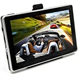 GPS Navigator, OUMAX GP70HD 7.0inch GPS Navigation System with Spoken Turn-By-Turn Directions, Preloaded USA,...