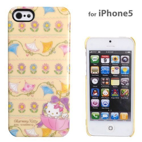 Sanrio Charmy Kitty Hard iPhone 5 Case (Flower) Charmy Kitty