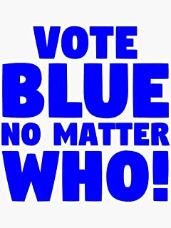 Image result for graphic on vote Blue