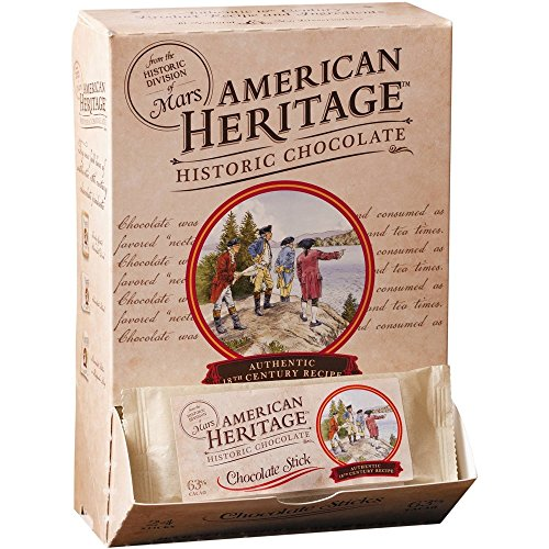 American Heritage Chocolate Sticks, 0.42 Ounce (Pack of (American Classic Sticks)