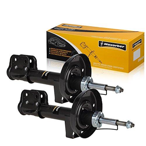 Maxorber Compatible with 1997 98 99 2000 01 Cadillac Catera Front Pair Shocks Struts (Cadillac Catera Shock)