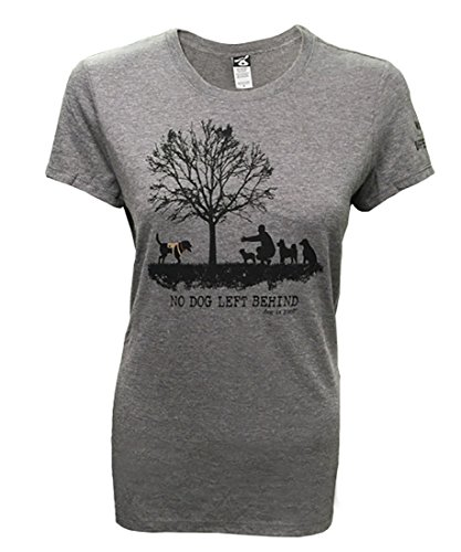 """No Dog Left Behind"" Women's T-shirt - Promotes Dogs on Deployment Program"