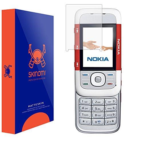 Nokia XpressMusic 5300 Screen Protector, Skinomi MatteSkin Full Coverage Screen Protector for Nokia XpressMusic 5300 Anti-Glare and Bubble-Free Shield