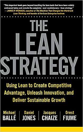foto de Amazon.com: The Lean Strategy: Using Lean to Create Competitive ...