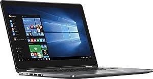 "Dell Inspiron 15 7000 7568 2-in-1 Laptop, 15.6"" 4K (3840x2160) TOUCHSCREEN, Intel 6th Gen i7-6500U, 256GB SSD, 8GB DDR3, Backlit Keyboard, Windows 10 (Renewed)"