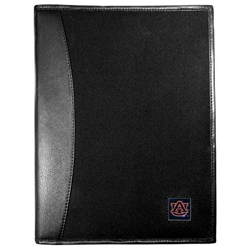 NCAA Auburn Tigers Leather & Canvas Padfolio, Black ()