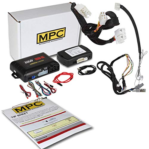 MPC Factory Remote Activated Remote Start Kit for 2016-2020 Honda Civic - T-Harness - FlashLink Updater - Firmware Preloaded
