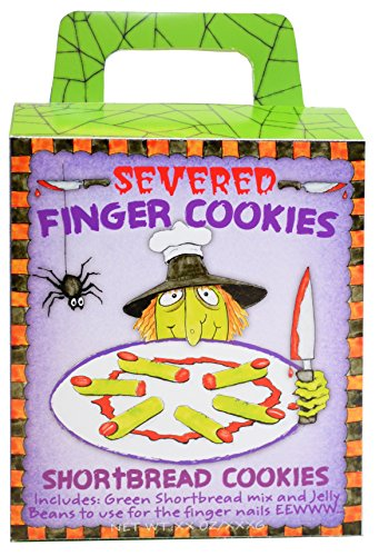 Severed Finger Cookies Shortbread Cookies by Pelican Bay LTD.