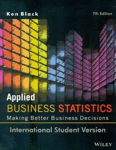Download Applied Business Statistics PDF