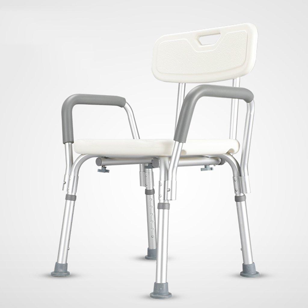 TH シャワーチェア バスチェアバスルームライトノンスリップ妊娠中の女性のスツール高齢者シャワー椅子障害のあるバスチェア 風呂椅子   B07CB49N4R