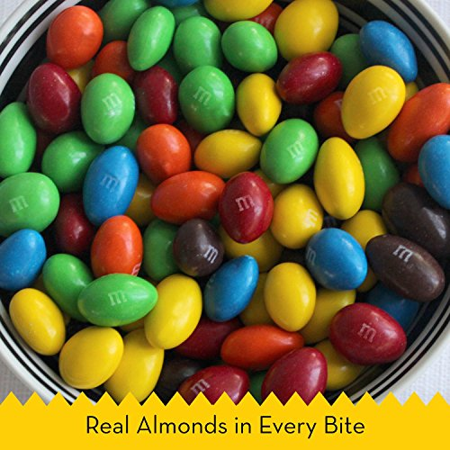 M&M'S Almond Chocolate Candy Sharing Size 9.3-Ounce Bag (Pack of 8) by M&M'S (Image #2)