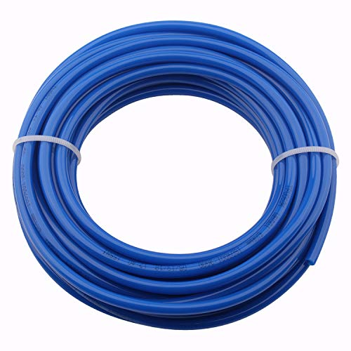 Pneumatic Hose - PU Air Tubing Pipe 6mm OD 4mm ID 10 Meters 32.8ft Air Hose for Air Compressor Tubing