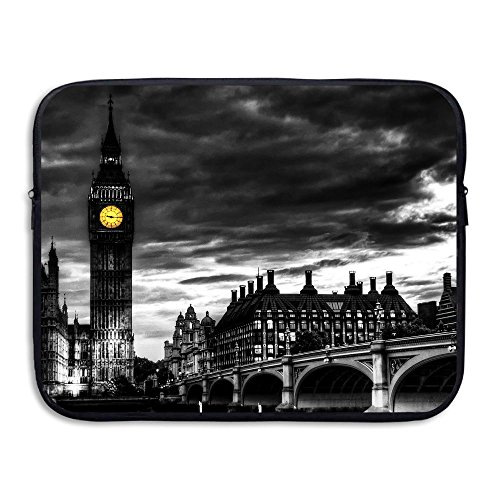 Fashion Laptop Sleeve Case Tower Bridge of London Art Computer Storage Bag Portable Protective Bag Briefcase Sleeve Bags Cover for MacBook/Ultrabook/Notebook/Laptop