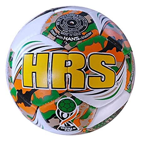 HSR World Cup  Limited Edition Football   Size: 5  Pack Of 1, Orange  Football Balls