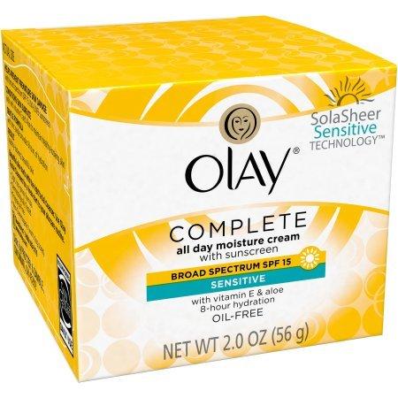 Olay Complete Facial Moisturizer Cream SPF 15 Sensitive Skin