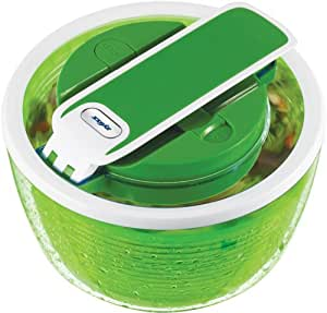 Zyliss Smart Touch Salad Spinner 2-3 Servings, Green