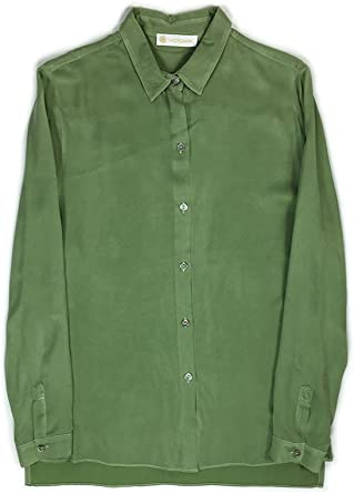 by Morgana Italy MS7S38 Camisa, Verde (Verde 20), Small ...
