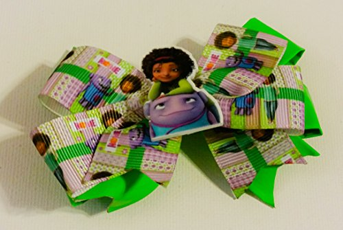 Green Home Duct Tape and Ribbon Hair Bow