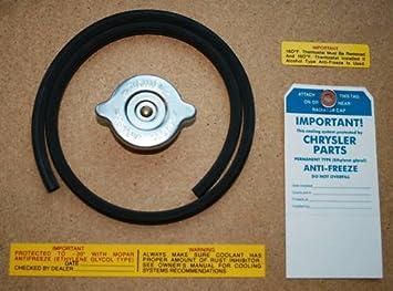 Amazon com: OE-Style Radiator Cap & Detail Set for 1970 1971