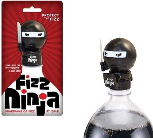 Jokari Fizz Ninja Soda Fresh Pump & Pour 2 Liter Bottle Fizz Keeper