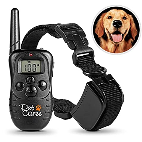 Dog Training Collar, Upgraded Sokos LED Backlight Rechargable 330YD Remote Dog Training Shock (Zapper Digital)