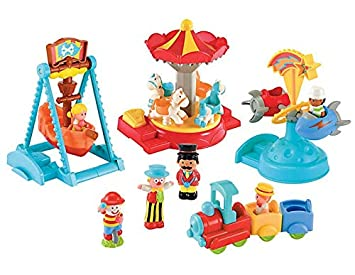 Early Learning Centre Elc Happyland Funfair Kids Toy Playset With