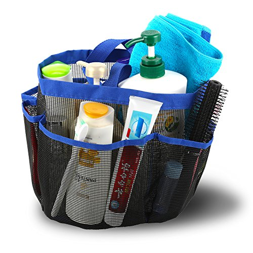 Shower Caddy Portable Bathroom Hanging Mesh Bag Storage Bag - 8