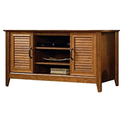 BS Wooden TV Stand 47u0026quot; Flat Screen Cabinet Console Organizer Open  Display Flexible Storage Shelves