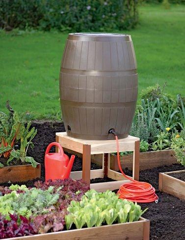 Rain Barrel Stand (Rain Wooden Barrels)