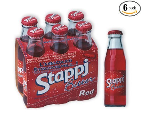 Stappj - Red Bitter Aperitif, (6-Pack) 3.4 oz. Btls.