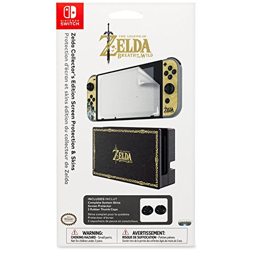 Nintendo Switch Zelda Collectors Screen Protection product image