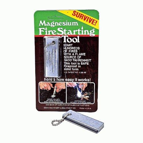 Doan Magnesium Fire Starter Tool
