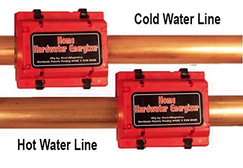 Regular Whole House Natural Hard Water Softener, Energized Structured Chemical-Free Soft Water 2-Unit system for Cold Lines and Water Heater $99.95 Sale $79.95