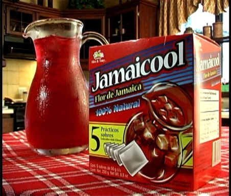 Jamaicool Hibiscus Flower Water 100% Natural 5 Bag Box -
