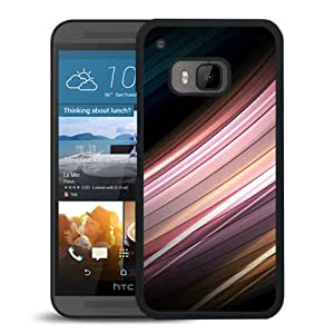New Pupular And Unique Designed Case For HTC ONE M9 With Motion Senses Black Phone Case