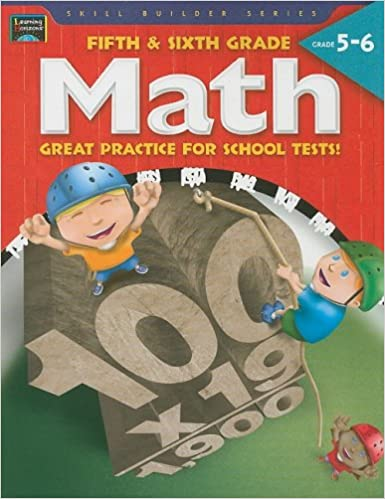 Buy Fifth Sixth Grade Math Great Practice For School Tests