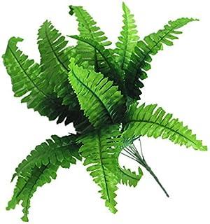 persiano Westeng 2PCS pianta artificiale erba cespugli pianta decorativa in plastica per casa giardino ufficio