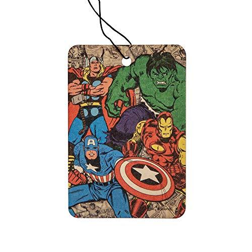 Plasticolor Retro Marvel Avengers Paper Air Freshener, 2 X 2-Pack - 4 Total ...